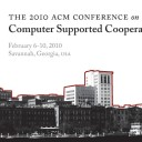 Papers accepted to CSCW workshop on Collaborative Health Technologies